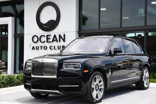 2019 Rolls Royce Cullinan: Design, Powertrain, Release >> Pre Owned 2019 Rolls Royce Cullinan Base Awd Suv
