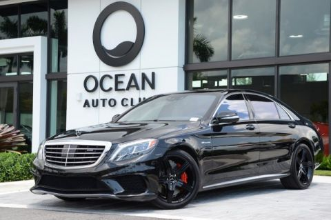 Pre-Owned 2017 Mercedes-Benz AMG® S 63 AMG® S 63