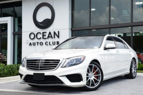 Pre-Owned 2016 Mercedes-Benz AMG® S AMG® S 63