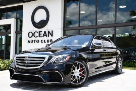 Pre-Owned 2018 Mercedes-Benz AMG® S 63 AMG® S 63